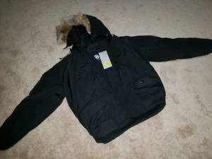 BLACK XL CANADA GOOSE JACKET