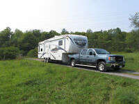 Truck, RV package for sale, RV must go first