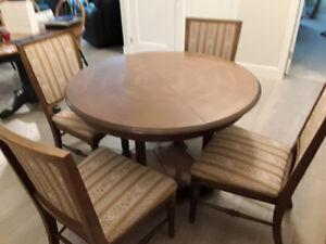 Quality wood dining  room set