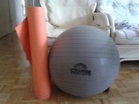 Yoga Ball+mat