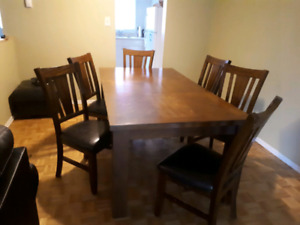 A Solid Wood Dining Room Table For 300