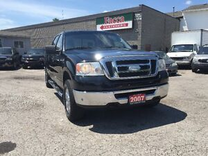 2007 FORD F150 4X4 PICKUP TRUCK 4DR SAFTEY & E-TEST