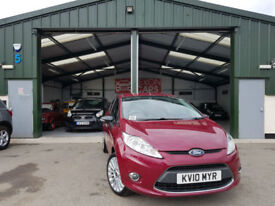 2010 Ford Fiesta 1.6TDCi Titanium MANUAL DIESEL INDIVIDUAL VERSION NEW SERVICE