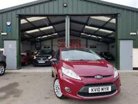 2010 Ford Fiesta 1.6TDCi Titanium MANUAL DIESEL INDIVIDUAL VERSION NEW SERVICE