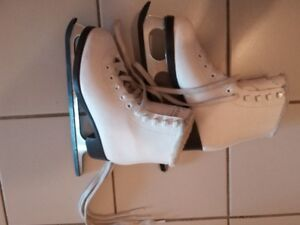 size 13 and size 1 figure skates for girls
