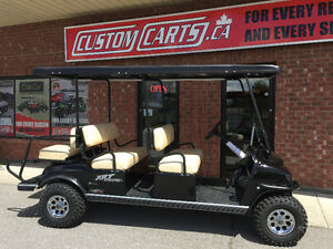 2017 CLUB CAR XRT Golf Cart 6 Passenger Electric
