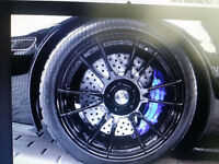 car rotor, disk, rims paint, customized color.
