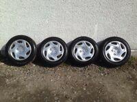 Peugout 206 steel wheels