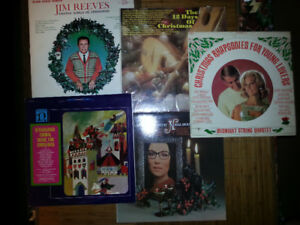 Vinyl LP recordings - Christmas favourites and more!
