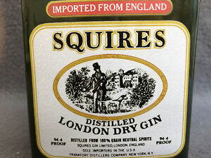 Collectible Antique Squires Distilled London Dry Gin Pitcher London Ontario image 4