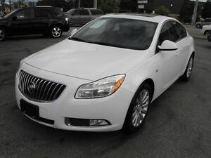2011 BUICK  REGAL CXL  LEATHER-SUNROOF-NEW TIRES  SALE
