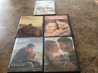 Nicholas Sparks DVD lot of 5 great movies