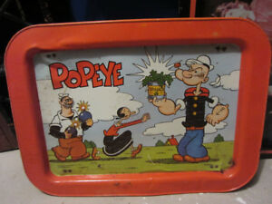 Vintage Popeye TV Tray