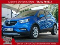 2017 Vauxhall Mokka X DESIGN NAV Petrol blue Automatic