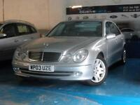 MERCEDES-BENZ E320 3.2 AUTO 2003MY AVANTGARDE *SAT NAV KEY LESS ENTRY & START*