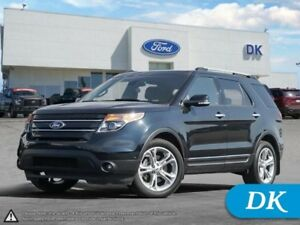2015 Ford Explorer Limited 302A, AWD, Fully Loaded!
