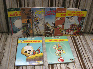 COLLECTION ANCIENNE BD - LUCKY LUKE - ÉDITIONS DUPUIS ET DARGAUD