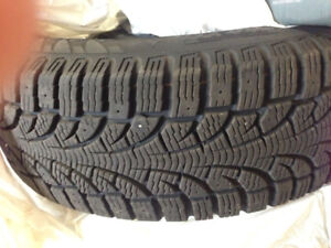 2 WINTER TIRES PIRELLI WINTER CARVING EDGE 205 55 16 PNEUS HIVER