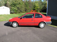 1997 TOYOTA Tercel One owner
