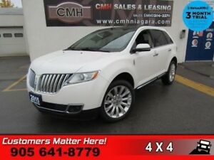 2015 Lincoln MKX   AWD NAV CS PANO-ROOF P/GATE CAM P/SEATS MEMOR