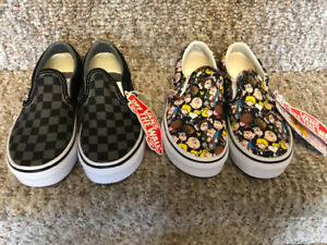 Vans slip on shoes toddler kids size 11.5 52d166214