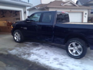 Yes 95 kms only, Ram 1500 Sport brand new