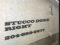 STUCCO DONE RIGHT