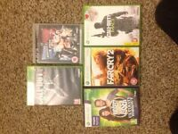 XBOX 360 + PS3 Games Job Lot