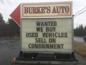 WE WILL BUY OR SELL YOUR VEHICLE!
