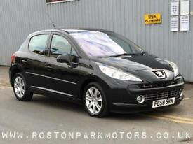 2008 PEUGEOT 207 1.6 HDi 110 Sport 5dr very clean car