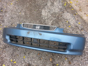 1996 HONDA FRONT BUMPER AND HEAD LIGHTS