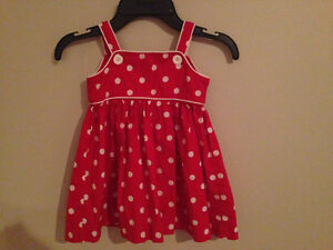 Baby girl dress size 9
