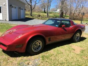 REDUCED -1981 CORVETTE FOR SALE