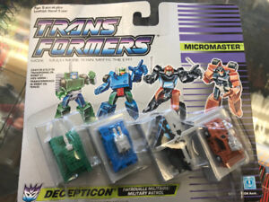 Transformers Micromasters - vintage action figures