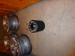 4 - 1.5 inch wheel spacers 5x4.5""