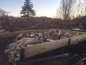 Seasoned split hardwood firewood for sale