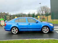 2011 61 SKODA OCTAVIA 2.0TDI CR ( 170BHP ) VRS WITH FSH+FULL LEATHER+XENONS++