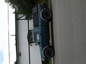 1996 Ford Ranger Pickup Truck 4x4 lifted properly
