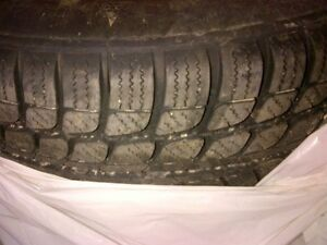 215/60R16 winter tires Kitchener / Waterloo Kitchener Area image 1