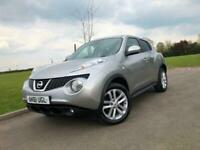 2011 61 NISSAN JUKE 1.6 ACENTA PREMIUM 5DR *REVERSE CAMERA, PRIVACY, BLUETOOTH*