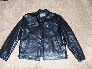 FAUX LEATHER JACKET - size L London Ontario image 1