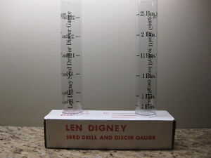 LEN DIGNEY SEED DRILL AND DISCER GAUGE