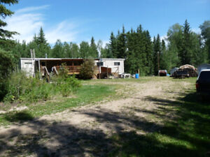 Acreage, Athabasca, Developed / Trade for 2 bed room apartment