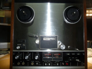 TEAC 3300-10 2 CHANNEL 4 TRACK REEL TO REEL DECK