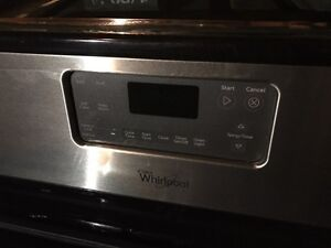Whirlpool gas oven