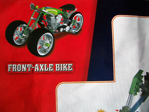 "K'NEX ""Custom Bike Shop"" motorcycle / cycle set, throttle sounds Cambridge Kitchener Area image 8"