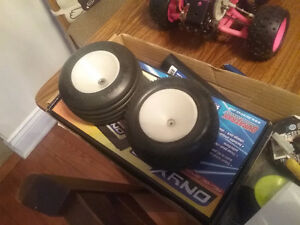 Vintage rc tires truck truggy