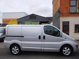 Finance Me! Vauxhall Vivaro 2.0CDTi Sportive SWB van twin side loading doors (13
