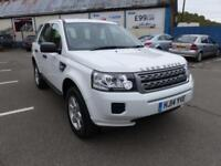 2014 LAND ROVER FREELANDER TD4 GS EDITION ** 4X4 FULL LEATHER - 28'000 MILES **