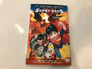 Super sons  When I grow up-volume 1 -DC comics
